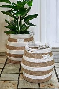 Bilde av Sorrento Stripe Basket stor