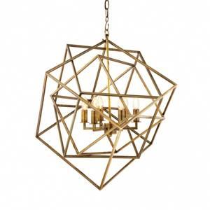 Bilde av Eichholtz Matrix Lantern Gold