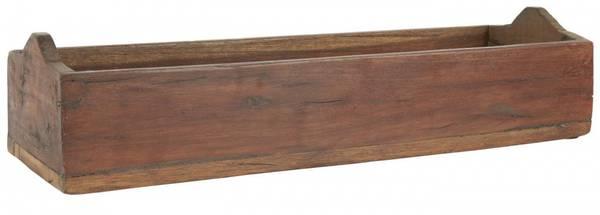 Unika trekasse med buede endestykker L40cm