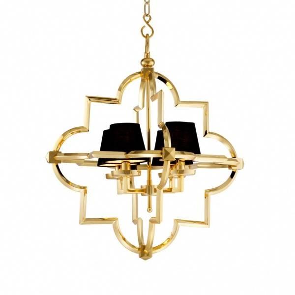 Eichholtz Mandeville lysekrone, gull