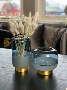 Bilde av Aventurin, blå vase/lykt