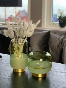 Bilde av Aventurin grønn vase/lykt