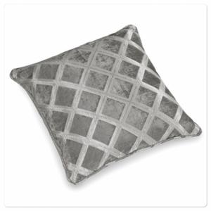 Bilde av Austen pute, sølvgrå 50x50cm