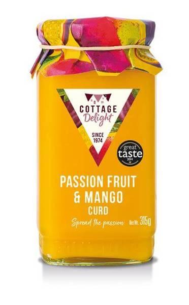 Cottage Delight Mango & Passionfruit Curd