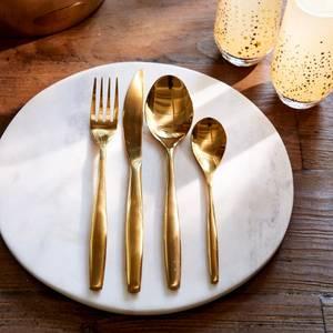 Bilde av Classic RM Cutlery soft gold