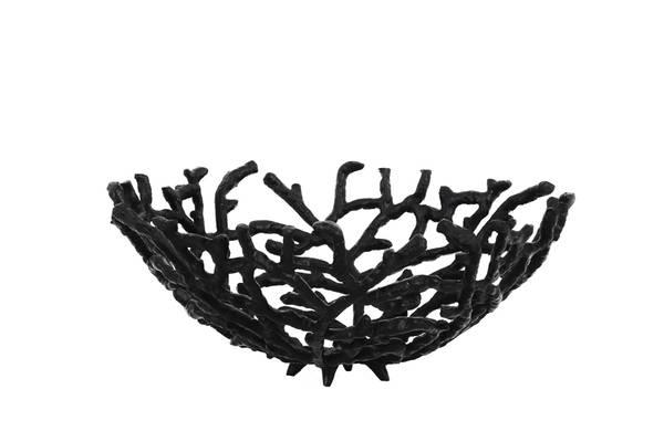 Rahmi Fruit Blowl, matted black
