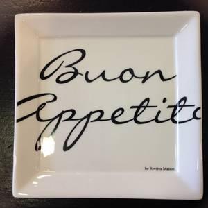 Bilde av Buon Appetito square plate