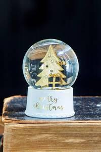 Bilde av Merry Christmas Snowglobe S