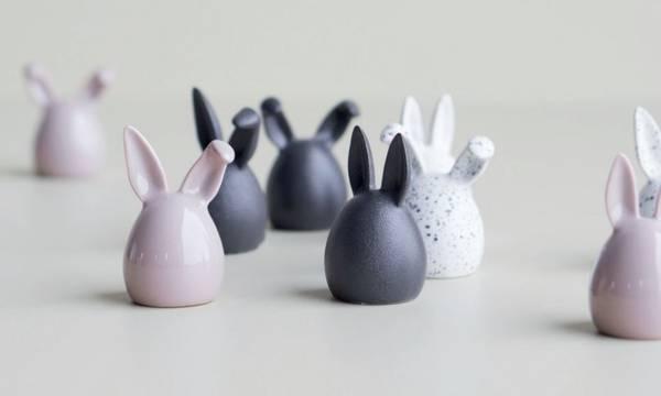 dbkd Easter Rabbit Triplets Pink