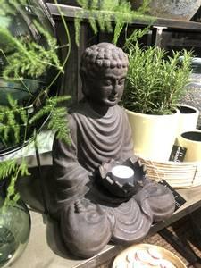Bilde av Buddha, brunsort