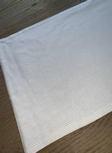 Bilde av Løper hvit med sølvstriper