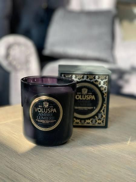 Ambre Lumiere Classic Maison candle 340g
