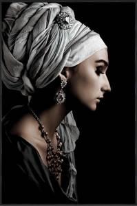 Bilde av Bildeprint Dame med turban