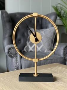 Bilde av Bordklokke gull metall