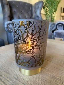 Bilde av Branch LED-lykt liten, grå &