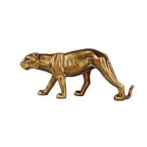 Bilde av Panter gullfarget metall S