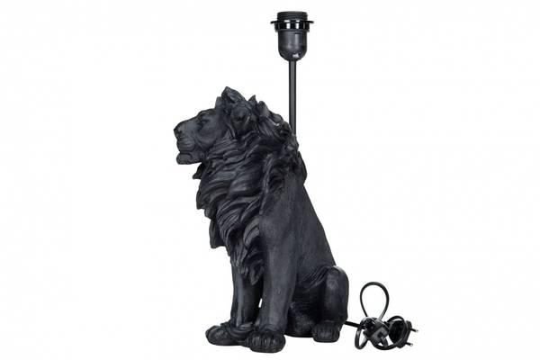 Løve Lampefot, sort