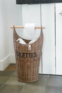 Bilde av Rustic Rattan Toilettes