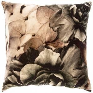Bilde av Velourputetrekk med grå roser