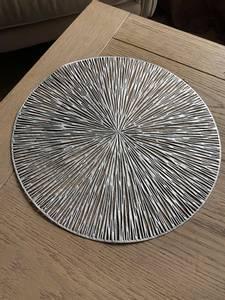 Bilde av Dekkebrikke PVC-kutt sølv