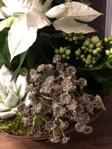 Bilde av Glitterdekor-blomsterkvast,
