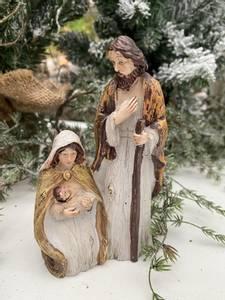 Bilde av Maria, Josef og Jesubarnet, i