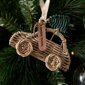 Bilde av Rustic Rattan Car Ornament