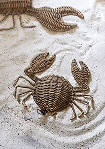 Bilde av Rustic Rattan Crab