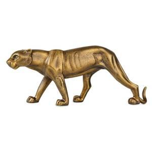 Bilde av Panter i gullfarget metall L