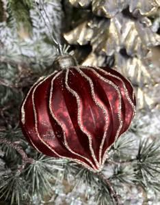 Bilde av BC Juletrekule rød,