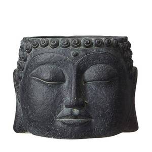 Bilde av Buddha blomsterpotte, mørk L