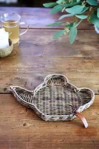 Bilde av Rustic Rattan Teapot Mini