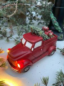 Bilde av Nostalgisk pick-up truck, rød