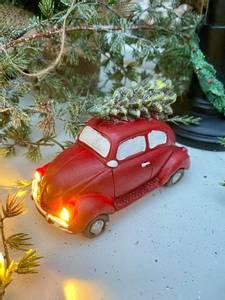 Bilde av Nostalgisk boble med juletre