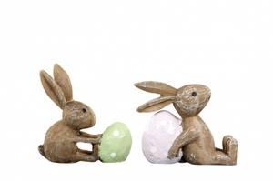 Bilde av Kaninpar med egg, grønt &