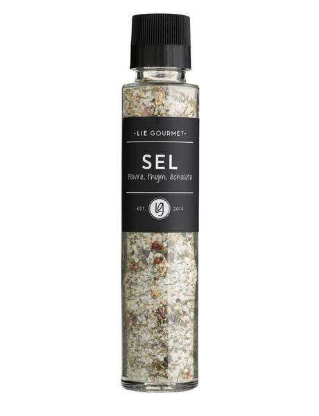 Lie Gourmet salt with pepper, thyme and shallots 290 g