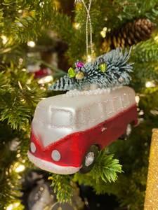 Bilde av Juletrekule VW Folkevognbuss