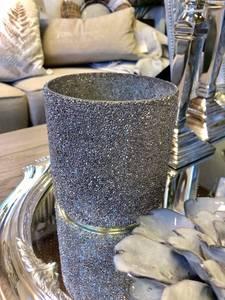 Bilde av Alegra telysholder sølvgrå,