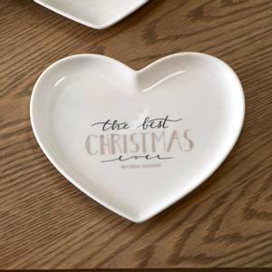 Bilde av Merry Christmas Heart Plate S