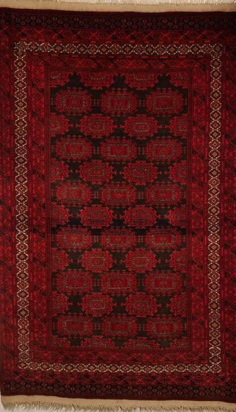 Bilde av Afghansk old sari str 185 x 121