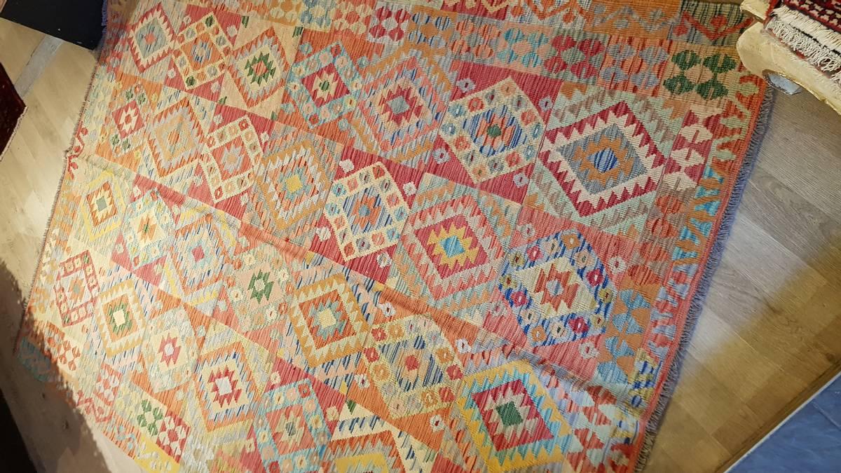 Afghansk kelim str 259 x 181