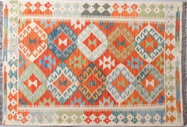 Bilde av Afghansk kelim str 123 x 86
