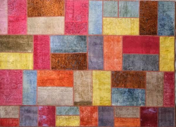 Bilde av Persisk patchwork str 206 x149