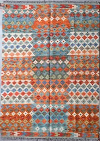 Bilde av Afghansk kelim str 182 x 132