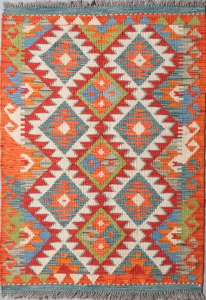 Bilde av Afghansk kelim str 116 x 83