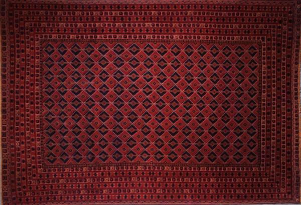 Bilde av Old Afghansk heart kelim str 288 x 200