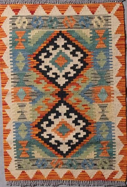 Bilde av Afghansk kelim ca  90.  x 60