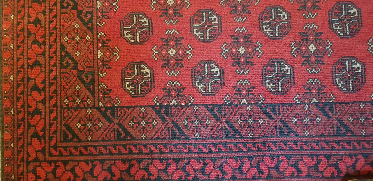 Afghansk Bokara str 240 x 158