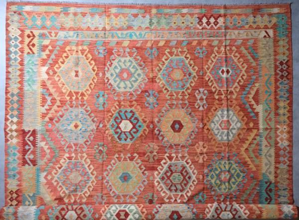 Bilde av Afghansk kelim str 366 x 284