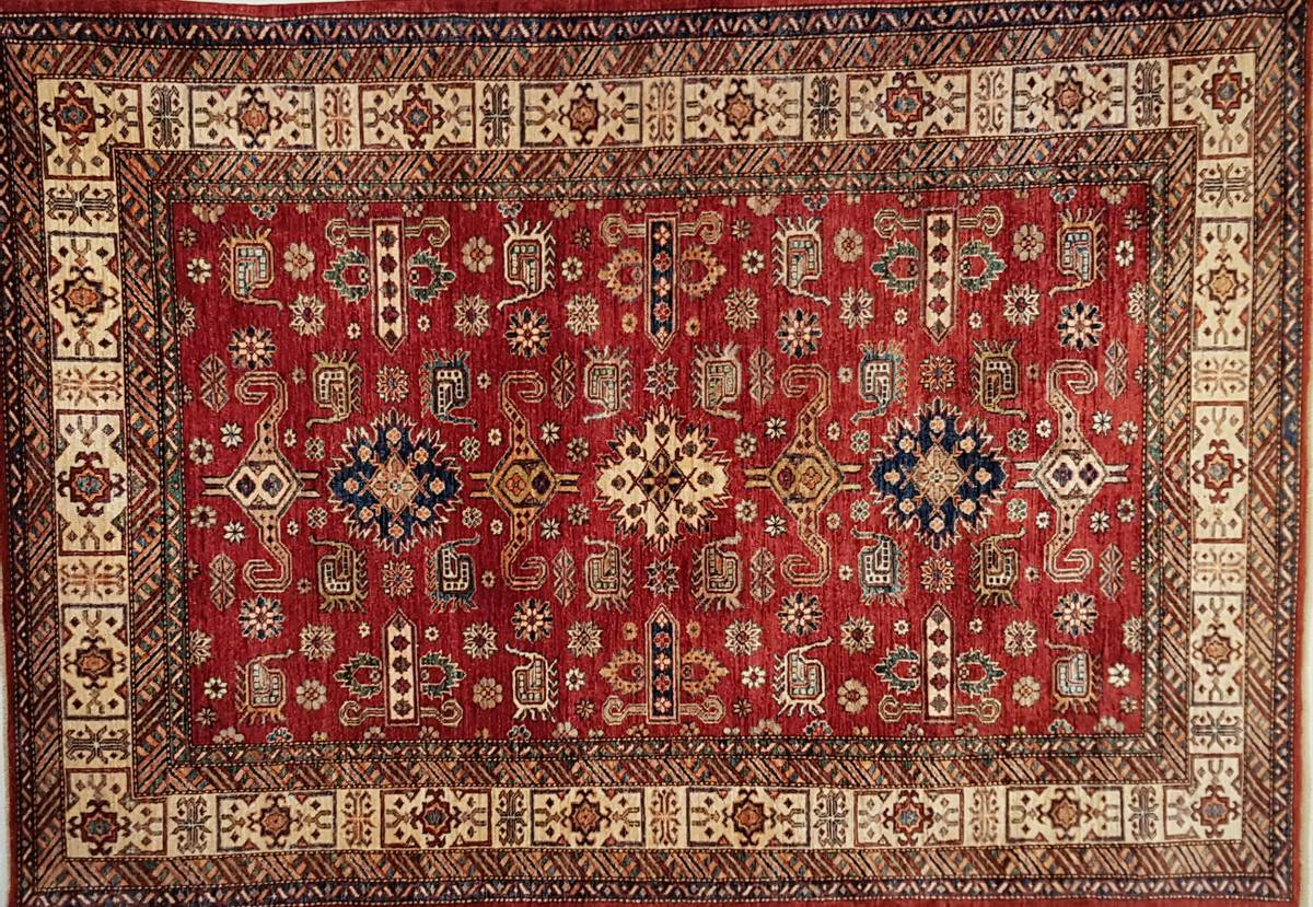 Afghansk kazak str 241 x 170